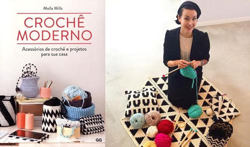 Crochê Moderno - Acessórios de Crochê e Projetos Para Sua Casa