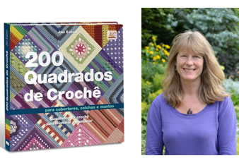 200 Quadrados De Croche